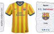 Barça away